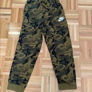 Camo boys Nike sweatpants